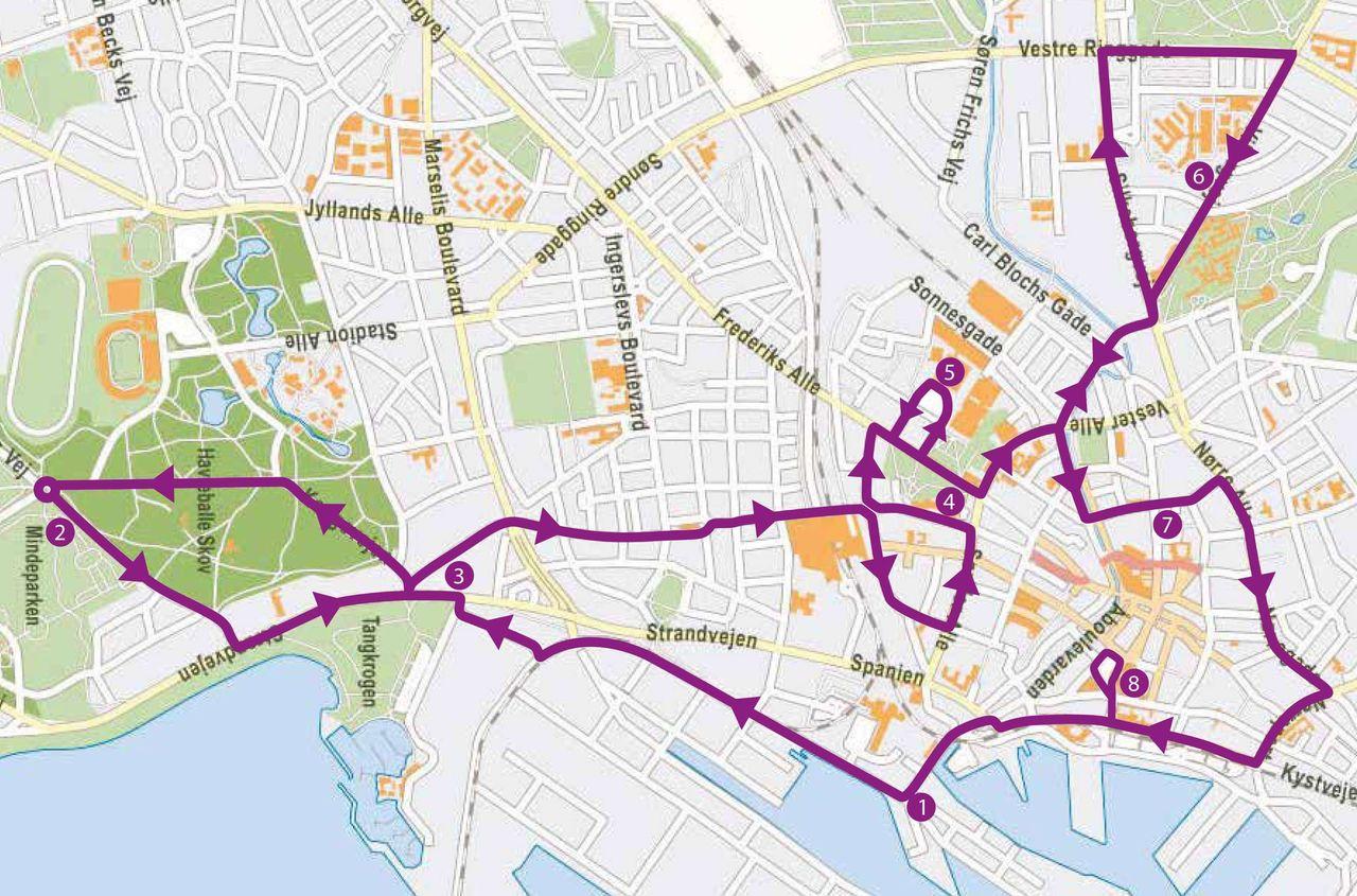 HopOn HopOff Bus Tour Aarhus City Sightseeing