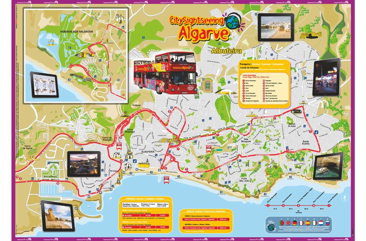 Hop On Hop Off Bus Albufeira Official City Sightseeing