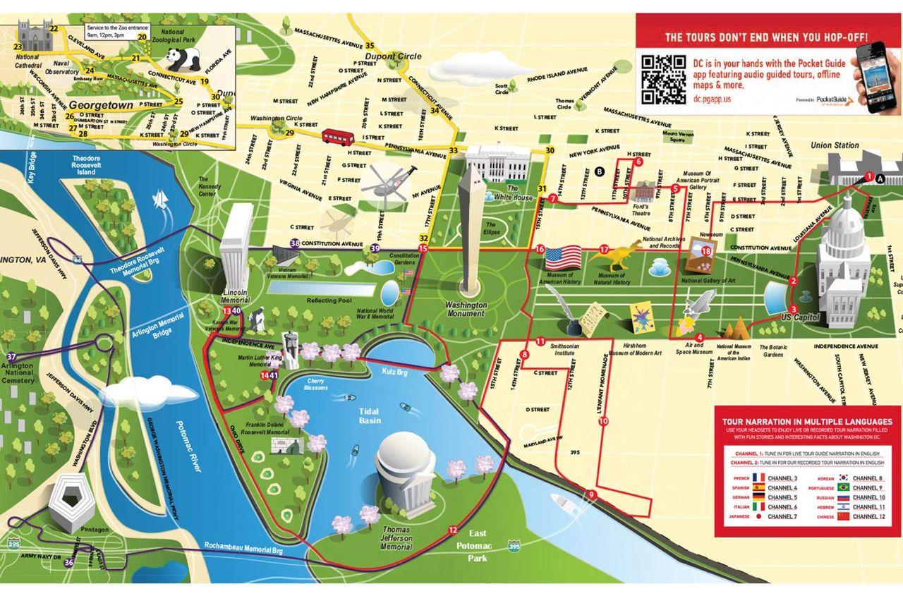 City Sights Bus Tour Washington Dc