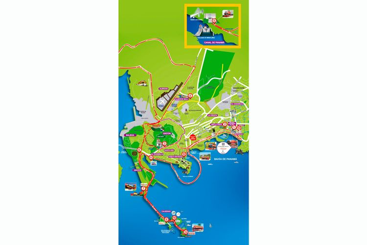 Hop-On Hop-Off Bus Panama City | Official City Sightseeing© Tour 2018