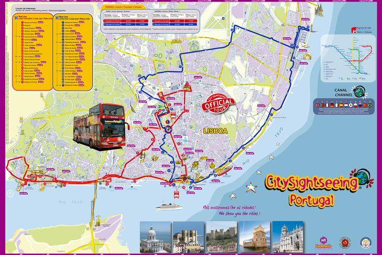 Bus Touristique Lisbonne